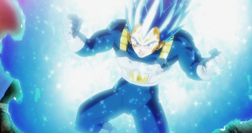 Vegeta Super saiyajin blue perfecto