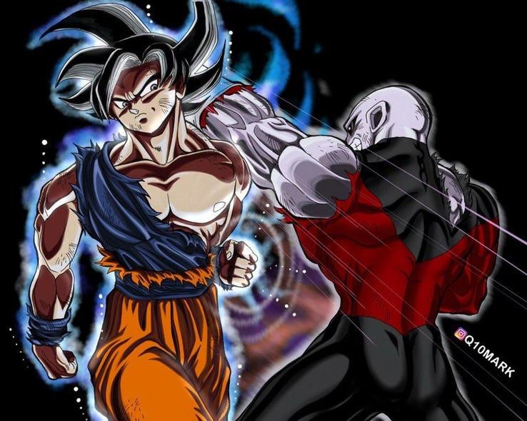 Imagenes De Goku Ultra Instinto Dominado Vs Jiren Para Colorear