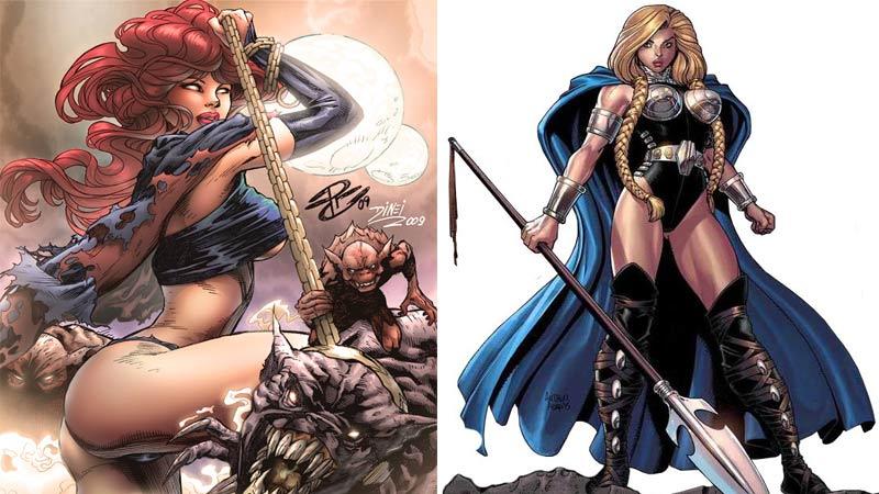 Las 15 heroínas más sexys de Marvel