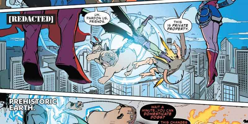 Inhumanos de Marvel entran en el Universo DC
