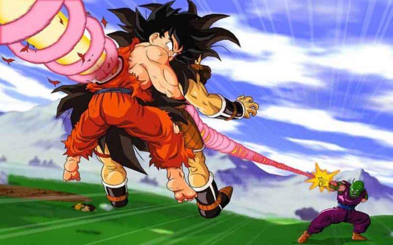 Makankosappo de Piccolo mata a Goku y Raditz