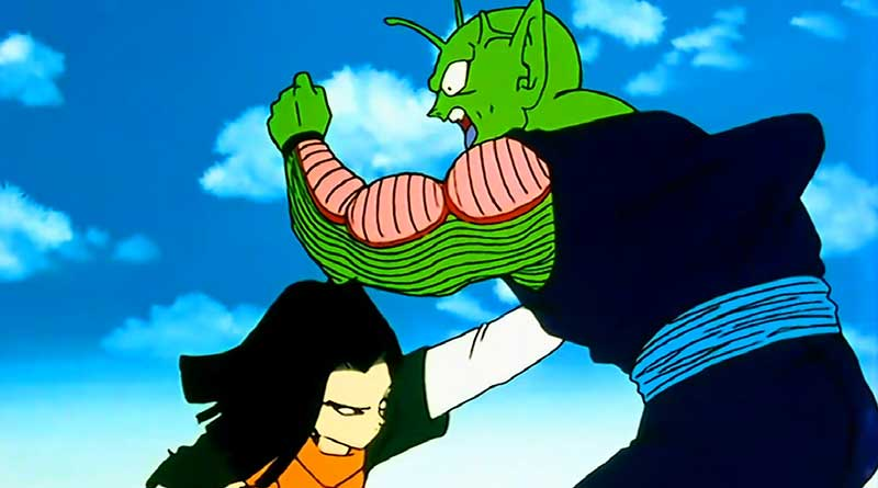 Androide 17 vs. Piccolo