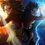 Goku y Vegeta Super Saiyan 4 Dragon Ball Heroes