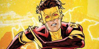 El nieto de Flash Bart Allen Impulse