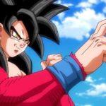 Episodio 1 de Dragon Ball Heroes:GokuSuper Saiyan 4 vs Goku Super Saiyan Blue
