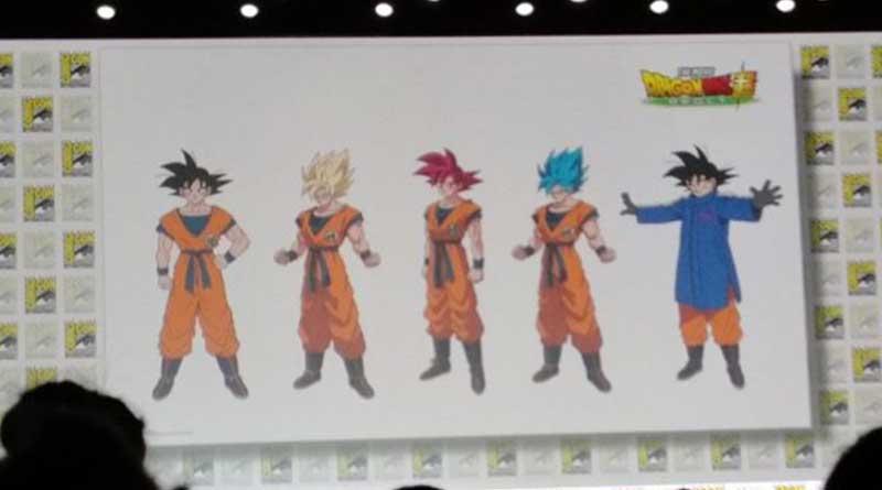 Diseños de Goku para la pelicula DBS Broly y transformaciónes