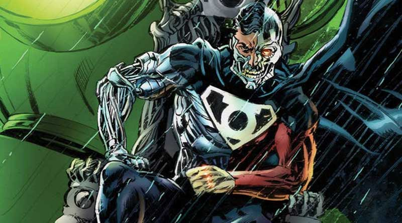 Green Lantern Corps vs. Cyborg Superman