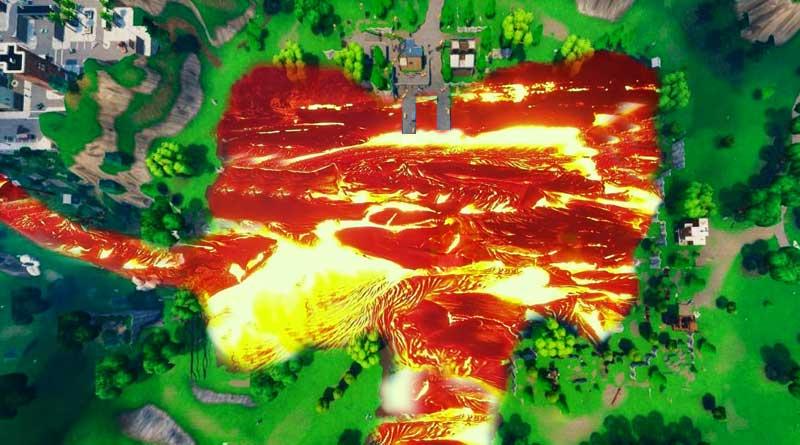 Cubo de Fortnite: ¿Podría el Lago Loot convertirse en Lago Lava?