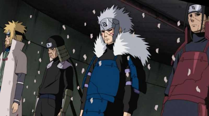 Orochimaru revive los Cuatro Kages