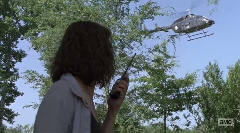 The Walking Dead, Jadis necesita llegar al helicóptero