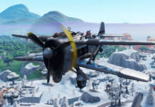 Aviones de alas de asalto no disponibles en la temporada 8 de Fortnite