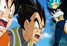 Dragon Ball Super: Gokú, Vegeta y Trunks en sus versiones femeninas