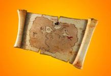 Fortnite: Cómo usar el mapa del tesoro