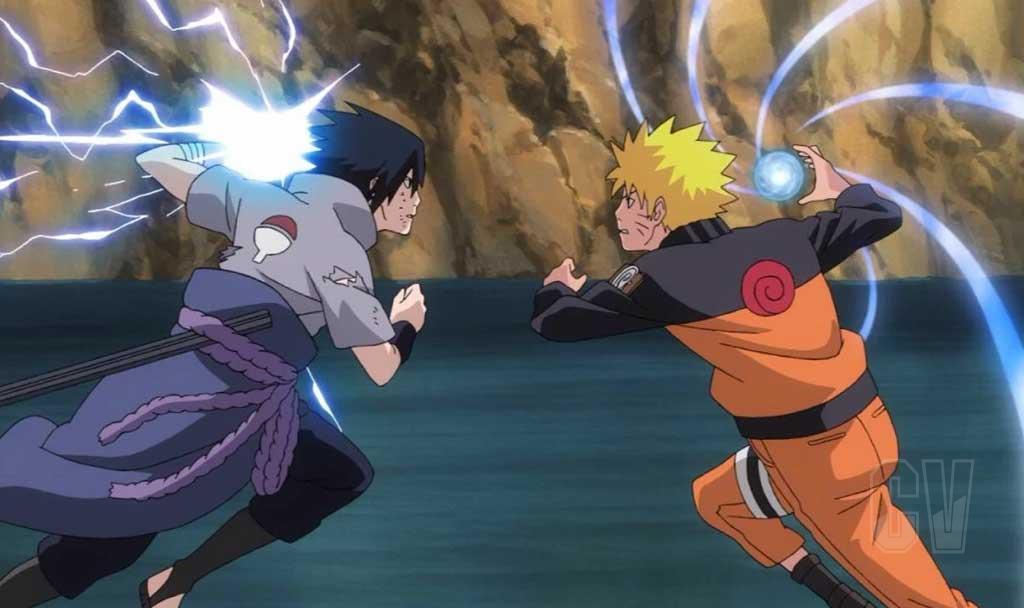 Este fue el momento en que Sasuke se dio cuenta de que Naruto era más fuerte que él